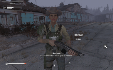 Their 'uniform' is the militia hat, vanilla outfit, and a combat vest.