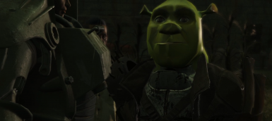 Shrek Head