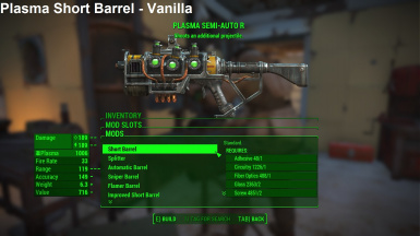 Plasma Short Barrel Vanilla