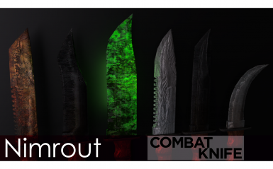 Nimrout Combat Knife Expansion Pack