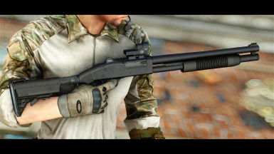Modern Weapon Replacer - Mossberg 500