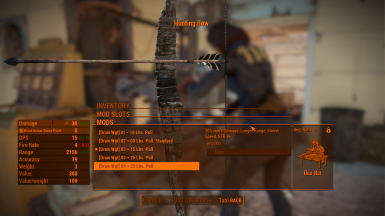 Hunting Bow max wgt