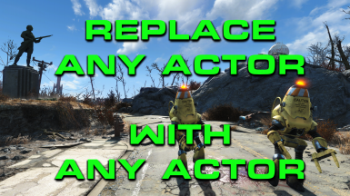 Replace Any Actor with Any Actor by SKK