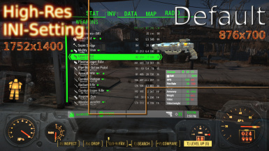 The reason why you should increase your Pipboy resolution