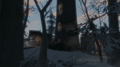 Erik's Round Tower [the lighthouse], with the forge, armory and strategy rooms inside it