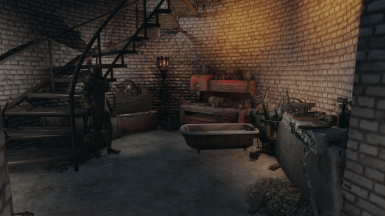 Forge: in the base of the tower