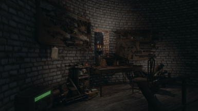 Weapon workshop, in the tower