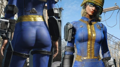 Vault Booty - Enhanced Female Vault Suit