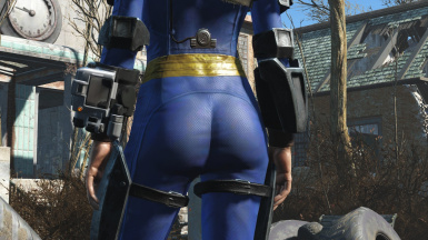 Vault Booty - Enhanced Female Vault Suit at Fallout 4 Nexus