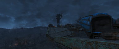 Outpost near Lonely Chapel