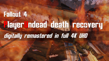 PlayerUndead death recovery by SKK (Rus)