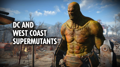 DC and West Coast Supermutants - Portugues PT_BR