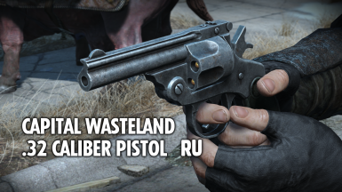 Capital Wasteland .32 Caliber Pistol - RU