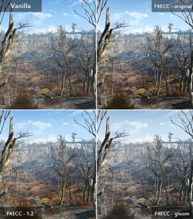 Fallout 4 Enhanced Color Correction