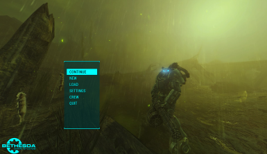 Main Menu Replacer - The Glowing Sea Radstorm