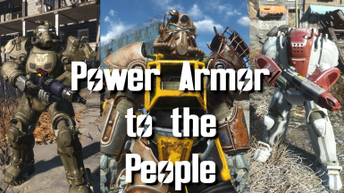 Ultracite, Institute, and Excavator Power Armor, with Consistent Power Armor Overhaul for the Rusty T-51