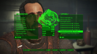 Ultracite Power Armor for Sale After Becoming a Sentinel