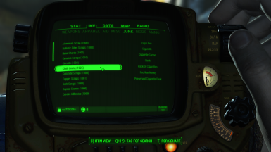 Fallout 76 Style Components Name