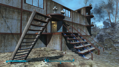 Zimonja: very complicated and important precombined wooden stair, which blocked me from expanding the vanilla fort for one more row. Thanks to the Beth...