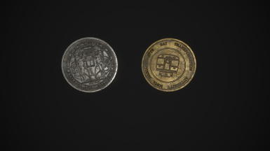 Library and Subway Tokens HD remastered.