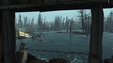 Waterside - View from Martial Checkpoint on the shore