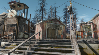 Dockside Depot with Dock Security and Outhouse