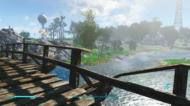 without ENB, Vanilla Weather