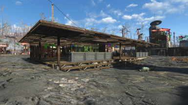 Bar and Shops