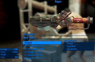 Ripper Melee weapon upgrade