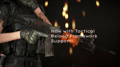 IMI Galil Rifle - Tactical Reload Patch