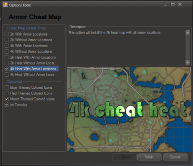 Armor Location Map - discontinued at Fallout 4 Nexus - Mods and