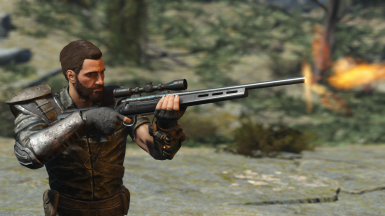 Hunting Rifle Tactical Stock Recolor