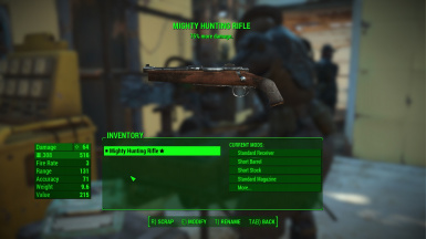 how to change health fallout 4