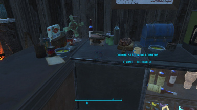 Activate Cooking Station, Like So!
