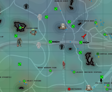 Fallout 4 Unmarked Locations Map