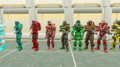 More Spartan outfits.