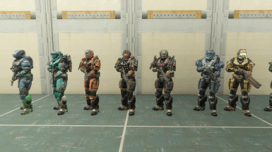 Even more spartan outfits.