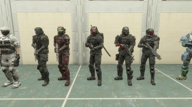 ODST outfits.