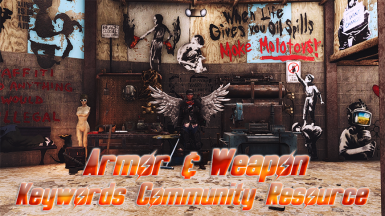 Armor and Weapon Keywords Community Resource (AWKCR) at