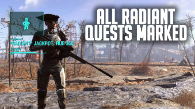 All Radiant Quests Marked Main