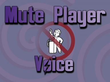 Mute Player Voice