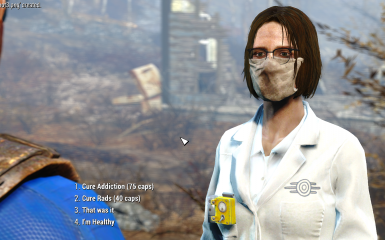 Doctor at Chems Station