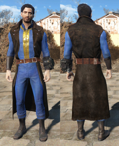 The Bad-Ass Vault Dweller Long Coat
