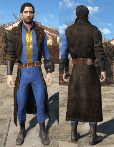 Vault Suit with Right Sleeve