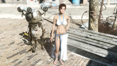 Havok-Physics Enabled CBBE Mina Cloth with Breast Physics