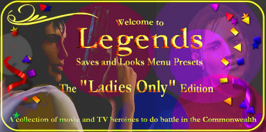 Legends _ Saves and Looks Menu Presets _ The Ladies