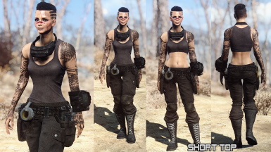 Mechanic outfit normal and short top