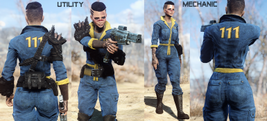 Vault Utility and Mechanic Jumpsuit