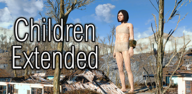 Children Extended - Separated Meshes and Textures for each Gender and Race