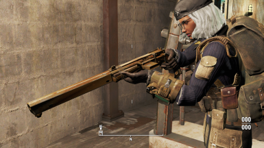 Pipe Carbine -- held like a rifle despite pistol-grip.